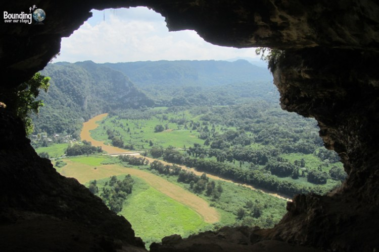 View from inside Cueva Ventana, Puerto Rico