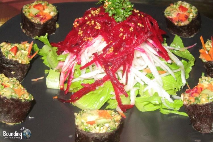 Barley Sushi at Giva Raw Vegan Restaurant