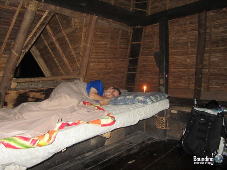 Ramon's Guesthouse - Batad - Banaue Rice Terraces - Inside Hut