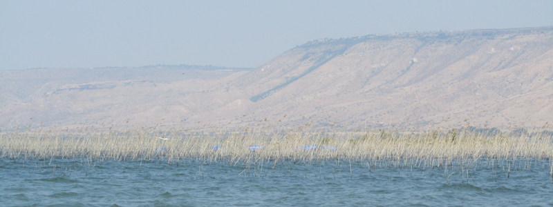 Sea of Galilee in Israel
