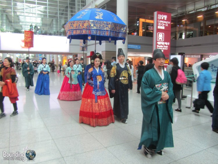 Walk of the Royal Family - Incheon Airport Seoul