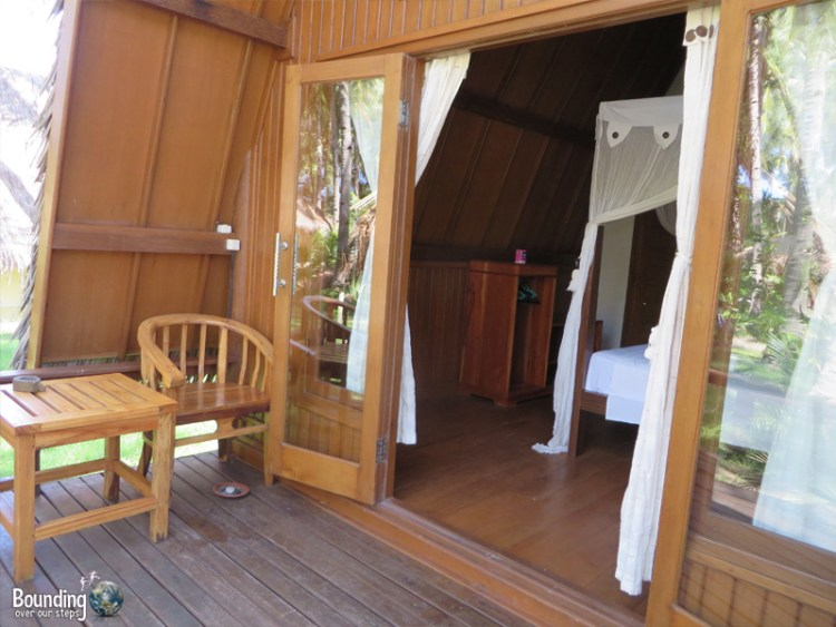 Island View Bungalows - Gili Air, Indonesia - Deck
