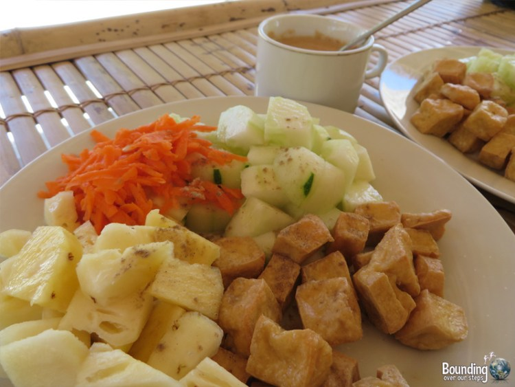 Island View Bungalows - Gili Air, Indonesia - Vegan Food