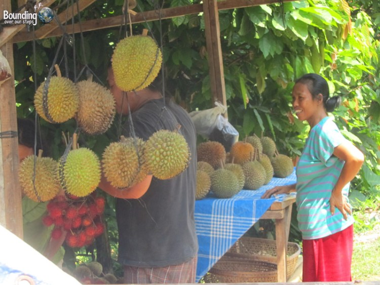Singaraja to Ubud in a Fruit Truck - Fruit Stand