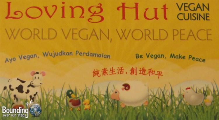 Vegan in Indonesia - Loving Hut