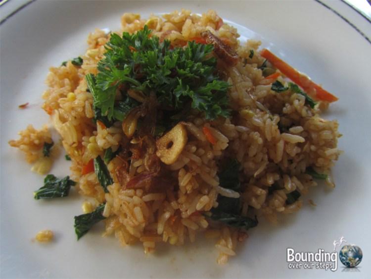 Vegan in Indonesia - Nasi Goreng
