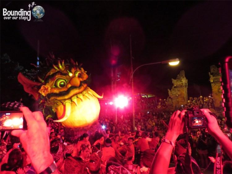 Balinese New Year - Ogoh Ogoh - Nyepi