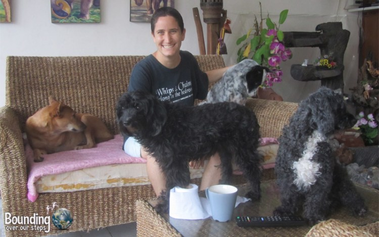 Hardest Being Vegan - Mindy with Dogs