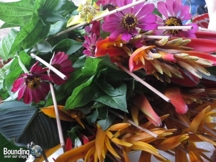 Mae Tee - Buddhist Funeral - Flowers