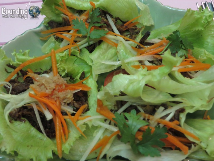Magical Garden Cafe - Chiang Mai - Lettuce Wraps
