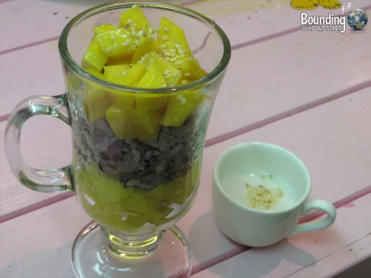 Magical Garden Cafe - Chiang Mai - Mango Sticky Rice