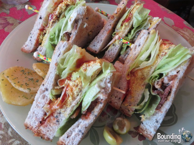 Bonita Cafe Vegan - Bangkok - Club Sandwich