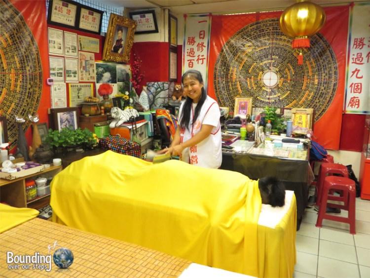 Knife Massage Taipei - Interest