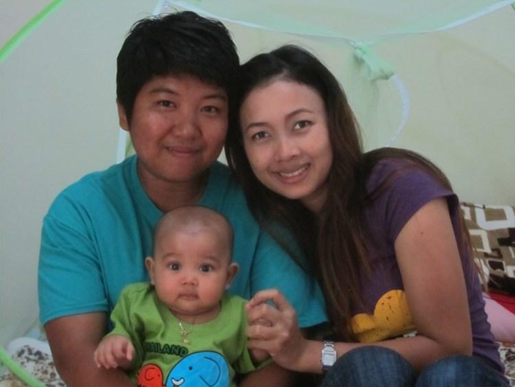 Lesbian in Thailand - Apple - Family 1
