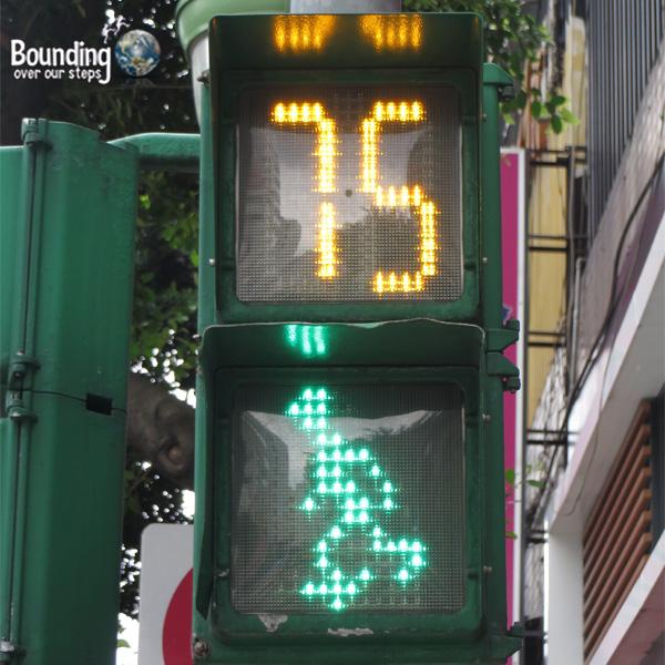 Taipei is a Great City - Walking Man