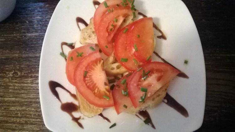Vegan in England - Pan Con Tomate