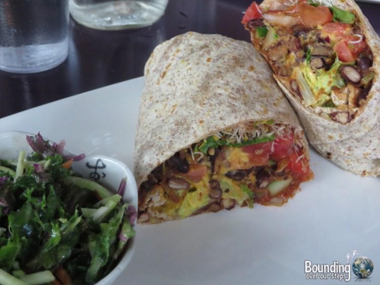 Fresh Vegetarian Restaurant - Bean Burrito