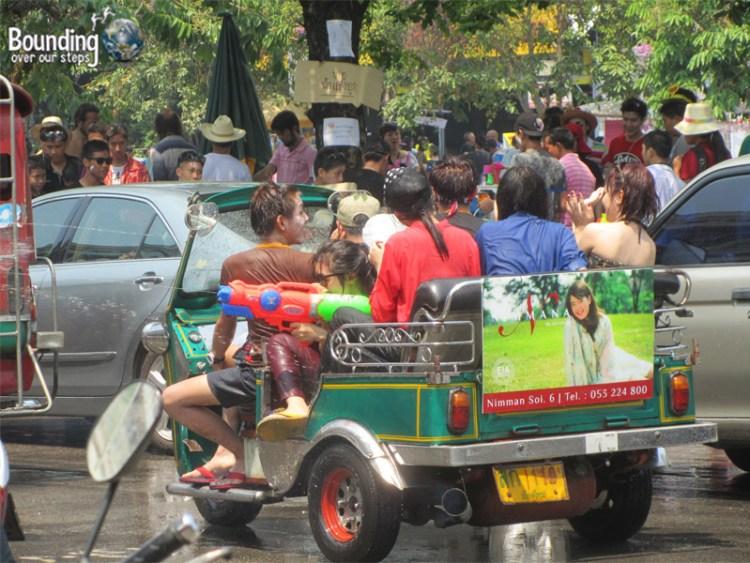 Happy New Year - Songkran - Chiang Mai - Thailand