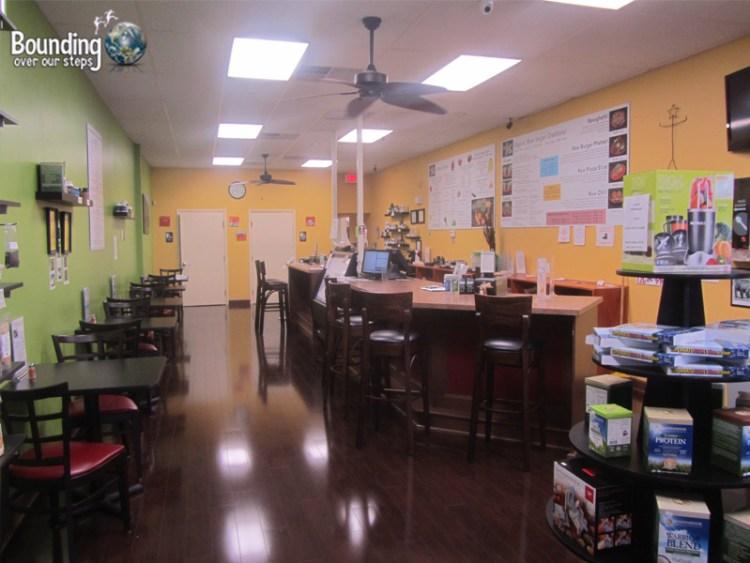 Rawk Star Vegan Restaurant - Dining Area