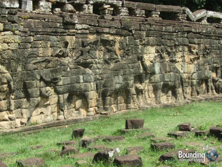 Surin Project - Angkor Wat Elephant Wall
