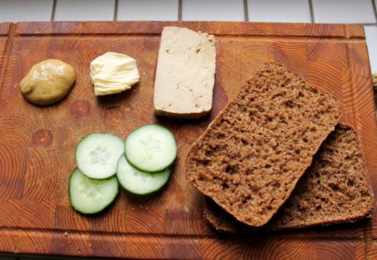 Vegan in Finland - Rye Bread