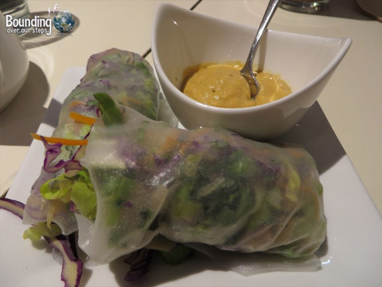 Rawlicious Vegan Restaurant - Spring Rolls
