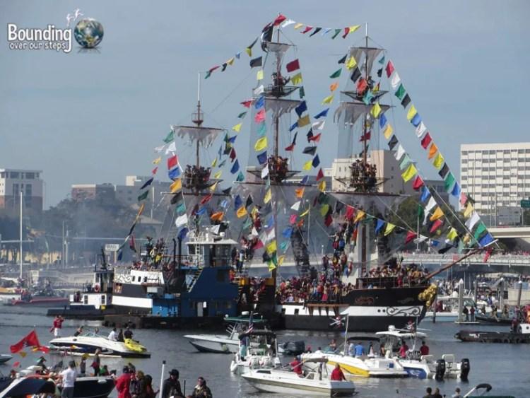 Gasparilla Pirate Festival - Tampa Bay - Flotilla