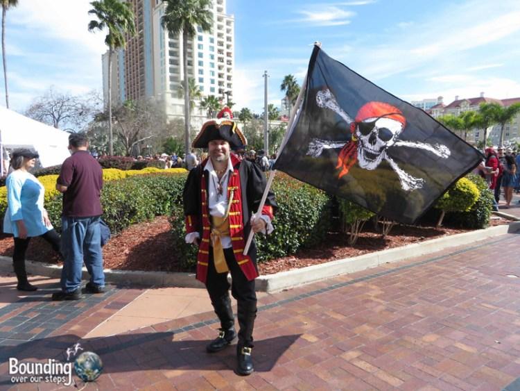 Gasparilla Pirate Festival - Tampa Bay - Pirate