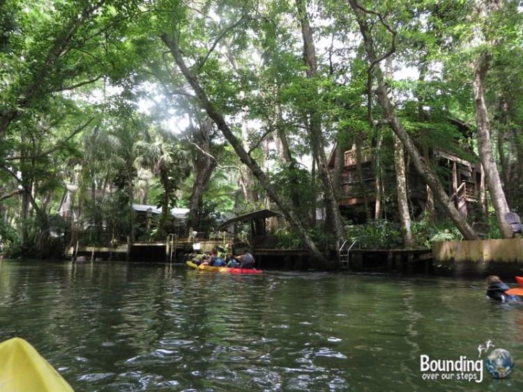 Kayaking Weeki Wachee - Residential