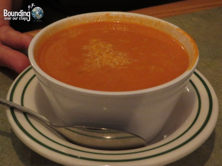 Dosa N Curry Vegetarian Restaurant - Tomato Coconut Soup