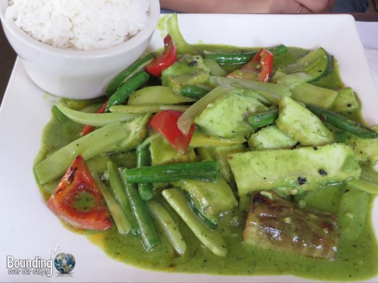 My Thai Vegan Restaurant - Green Curry
