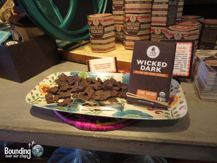 Taza Chocolate Factory Tour - Wicked Dark