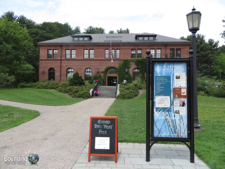 The Hunnewell Building - meeting place for guided walks of the Arnold Arboretum