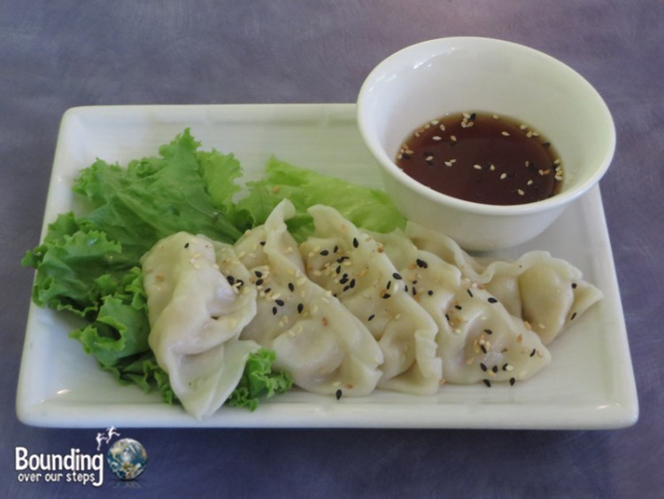 Sweet Lemon Vegan Bistro Portland - Peace Pot Stickers