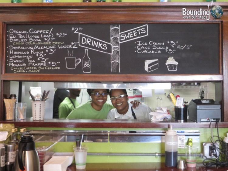 Detroit Vegan Soul - Owners Kirsten and Erika