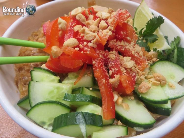 The Lunch Room - Vegan Restaurant - Pad Thai