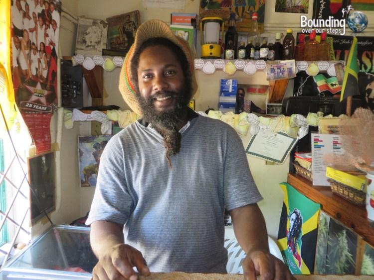 Vegan in Jamaica - Deano from Reggae Pot Restaurant