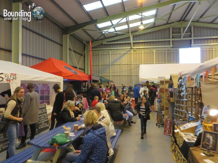 People's Market inside Hangar 1 at the Sligo Airport