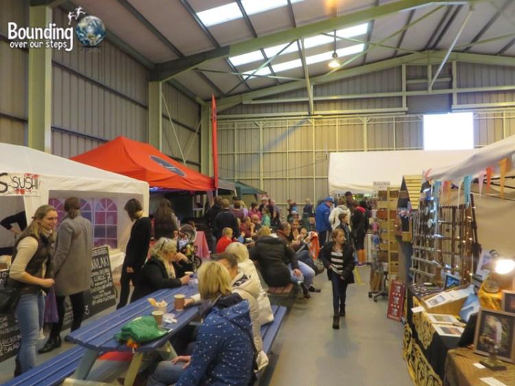 People's Market inside Hangar 1 at the Sligo Airport