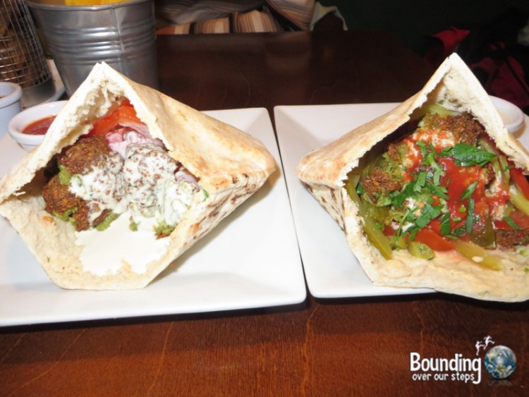 Vegan in Ireland - Umi Falafel in Dublin
