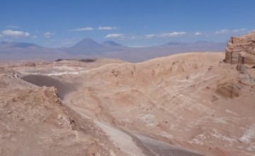 Valle de la Luna in the Atacama Desert, Chile