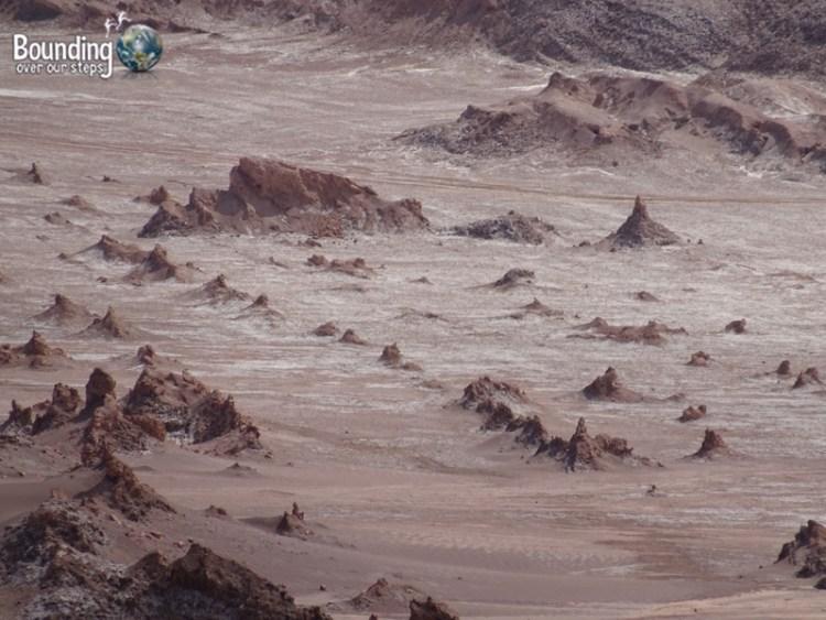 Atacama Desert - Valle de la Luna - Moonscape