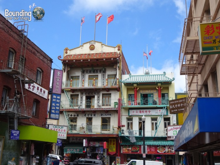 Free Things in San Francisco - Chinatown Buildings