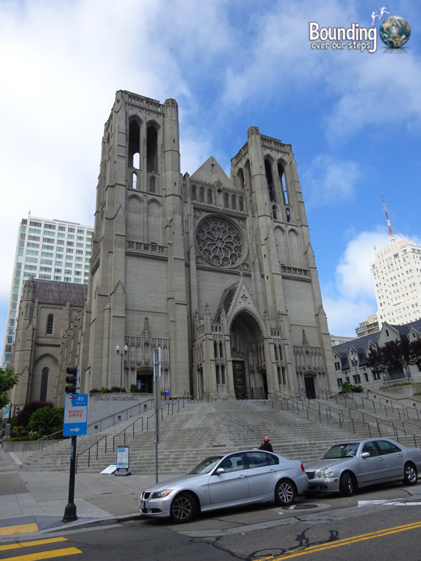Free Things in San Francisco - Grace Cathedral Outside