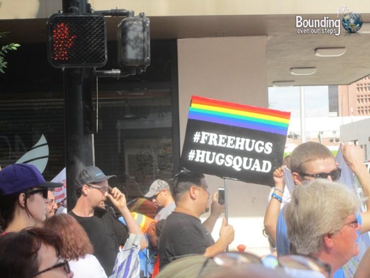 Love Wins Against Westboro - Free Hugs