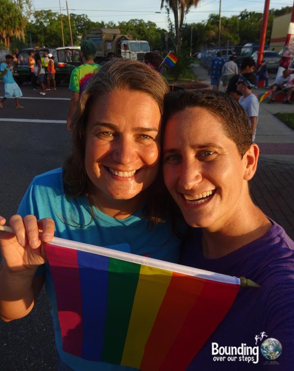 Love Wins Against Westboro - St. Pete Pride Selfie