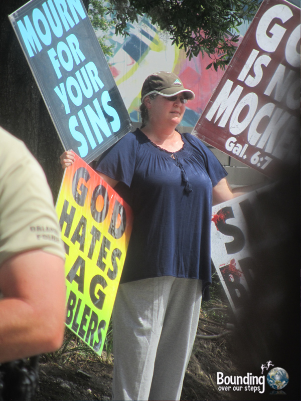 Love Wins Against Westboro - Westboron Woman