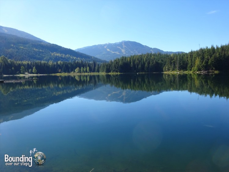 Hiking in Whistler - Lost Lake Symmetry