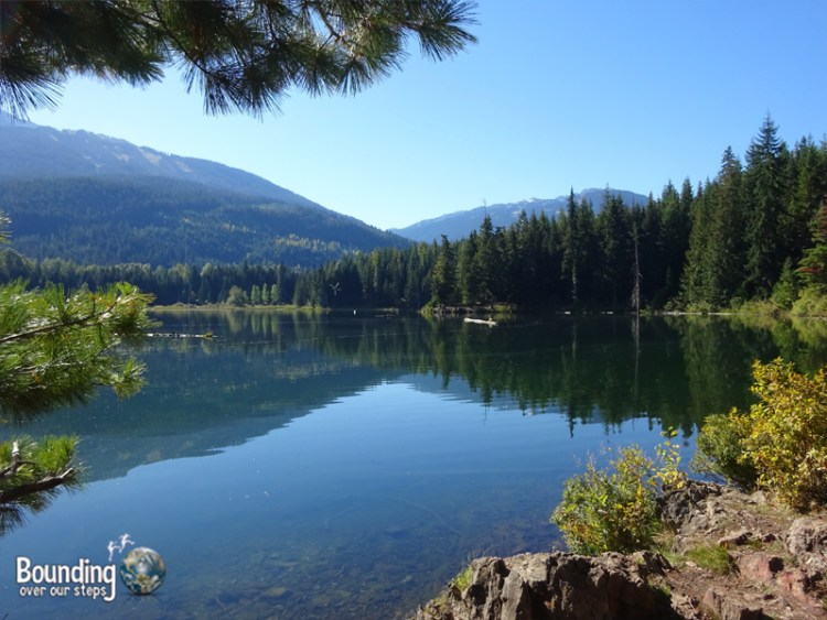 Hiking in Whistler - Lost Lake View