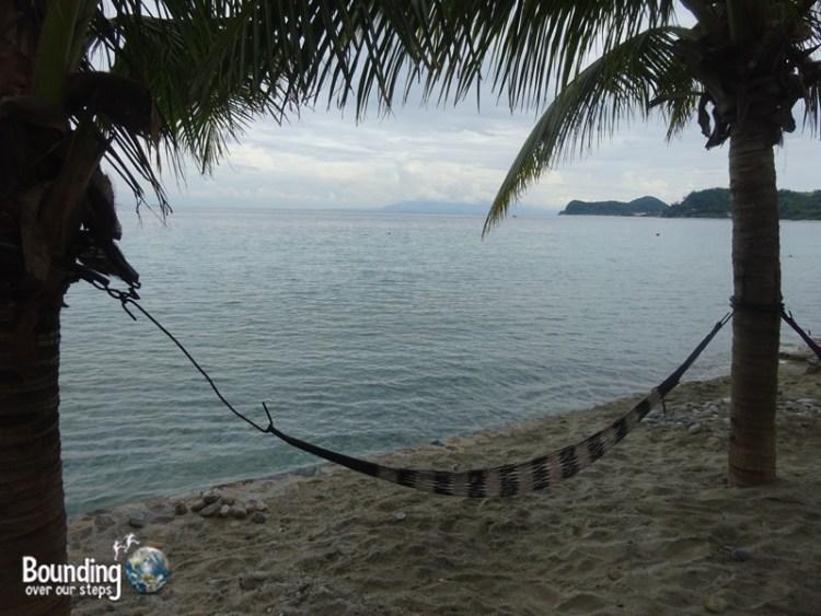 Travel from Manila to Puerto Galera - Hammock Talipanan Beach